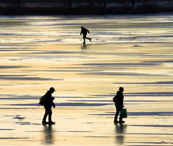 With temperatures climbing into the 40's and potentially breaking records for early January, folks have been flocking outdoors to take advantage of th
