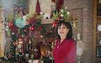 Xiomara 'Sami' Ugarte stood in front of some Christmas decorations in her Wayzata home.      ]  Shari L. Gross • shari.gross@startribune.com      Sa