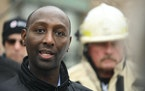 Minnesota Rep. Mohamud Noor (DFL) spoke to the media in front of the building at 630 Cedar Avenue where an early morning fire killed five people Wedne