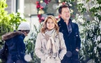 """Candace Cameron Bure and Paul Greene star in Hallmark's """"A Christmas Detour."""" Credit: Copyright 2015 Crown Media United States LLC/Photographer: Marce"""