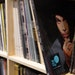 """A vinyl copy of Prince's album """"One Night Alone"""" sat among the records in Noiseland Industries' library."""