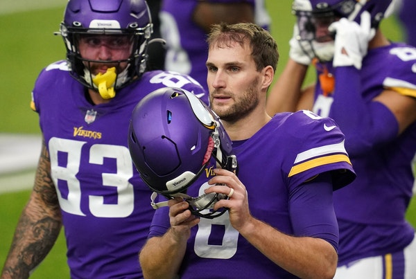 Vikings quarterback Kirk Cousins has had a rollercoaster of a season, perhaps appropriate for a team with a 6-6 record through 12 games.