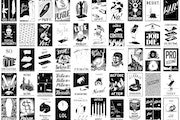 A sampling of the 225 ink drawings that Piotr Szyhalski produced daily during the pandemic. More can be found on his Instagram page, @laborcamp.
