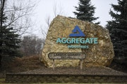 Aggregate Industries was seeking a variance to mine gravel and limestone closer to homes in Grey Cloud Island Township.