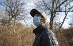 Isoo O'Brien takes a walk for bird watching. The Evanston high school senior is expected to break the Cook County record for individual bird species