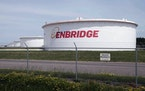 The Line 3 replacement across northern Minnesota will connect the oil fields in Alberta with the Enbridge Energy terminal in Superior, Wis., shown in