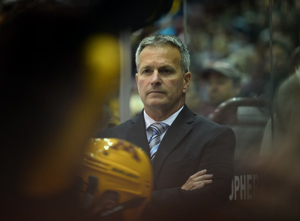 Gophers coach Don Lucia was glum during an 0-3 run, but his team has won three of its past four games going into a home-and-home series with Minnesota