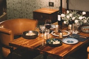 Rooms have been reconfigured for private dinners at Minneapolis' Hewing Hotel.