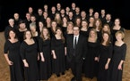The Singers, with artistic director Matthew Culloton.