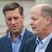 Republican legislative leaders House Speaker Kurt Daudt, left, and Senate Majority Leader Paul Gazelka. ] GLEN STUBBE • glen.stubbe@startribune.com