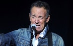 FILE - In this Nov. 5, 2018, file photo, Bruce Springsteen performs at the 12th annual Stand Up For Heroes benefit concert at the Hulu Theater at Madi