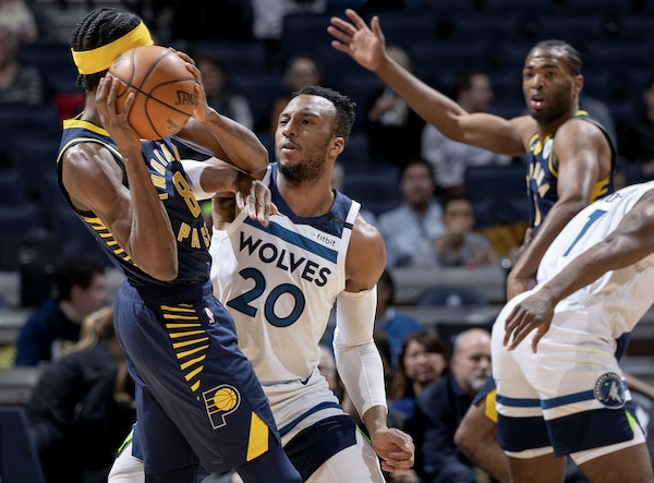 Josh Okogie recorded 68 steals in 62 games last season, but the third-year wing wants to use his smarts to match his energy.