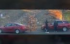 Carjacking in broad daylight in Minneapolis