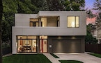 This new home in Minneapolis was designed by Peterssen/Keller Architecture.