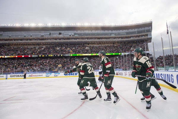 Should the Wild look into playing games outside at TCF Bank Stadium?