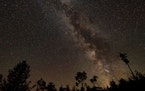 The night sky seen from Voyageurs National Park in northern Minnesota is now protected.