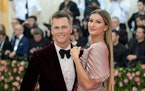 Tom Brady and Gisele Bundchen at the Metropolitan Museum of Art's Costume Institute benefit gala in New York, May 6, 2019. The theme for this year's