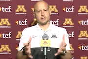 Gophers football coach P.J. Fleck spoke to reporters during Monday's video news conference.