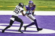 The Vikings had an undeniable mismatch Sunday when Justin Jefferson was covered by Jaguars cornerback Luq Barcoo.