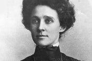 When her father, John Puckett Gibbs, the Itasca State Park commissioner, died in 1903, Mary Hannah Gibbs took his place and tried to protect the park