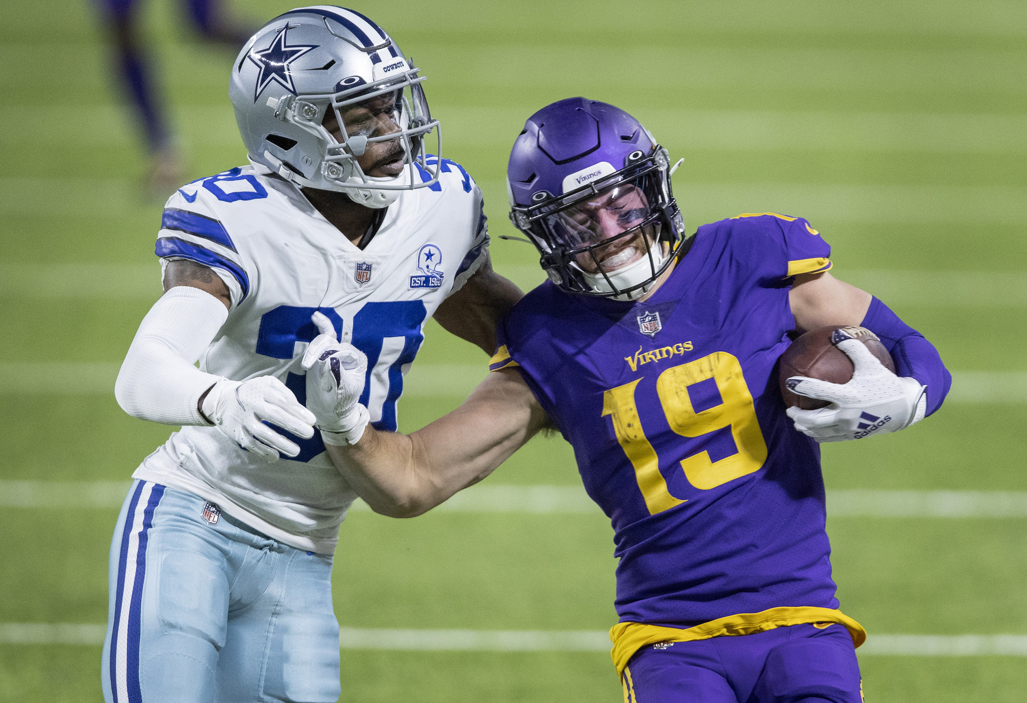 Adam Thielen is the latest Vikings player expected to restructure his contract.