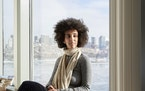 FILE -- Timnit Gebru, a respected researcher at Google, in Boston, Dec. 29, 2017. Gebru said she was fired by the company after criticizing its approa