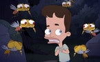 """Nick Birch (voiced by Nick Kroll) in the fourth season of """"Big Mouth."""""""