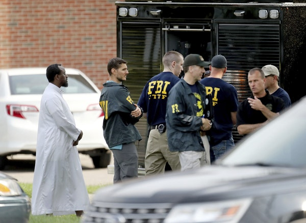 Officials investigated an explosion at the Dar Al-Farooq mosque in Bloomington in 2017. A DNA expert testifiedThursday that a hair found there didn'