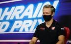 Haas driver Kevin Magnussen of Denmark