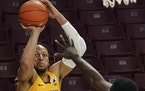 Brandon Johnson battled foul trouble in his first games with the Gophers, and the transfer from Western Michigan said he realizes he has to do what he