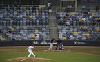 The St. Paul Saints played before limited crowds last season because of COVID-19 restrictions.