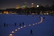 Registration is paused for the Luminary Loppet, which usually draws 10,000 on frozen city lakes.