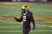 """Defensive back Phil Howard and the Gophers football team have been undergoing nearly daily testing for COVID-19 and dreading any positive results. """""""