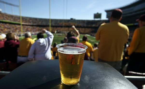 The Gophers have permitted beer sales at TCF Bank Stadium since 2012, and now the Regents are considering alcohol sponsorships, like other universitie