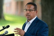 Attorney General Keith Ellison in August.] Mark Vancleave - Star Tribune.