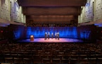 Cantus recorded its Christmas program in an empty Ordway Concert Hall.