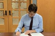 Minneapolis Mayor Jacob Frey signed the city's 2021 budget.