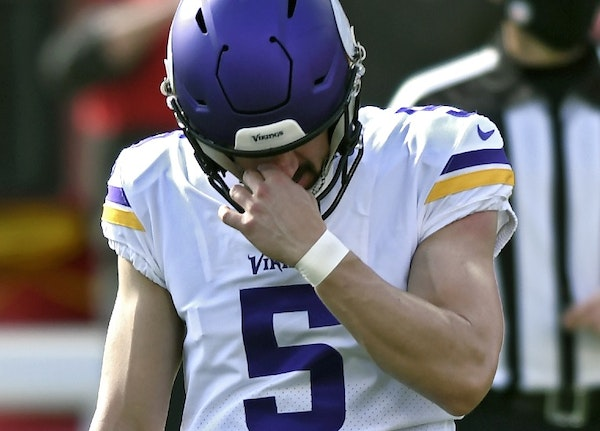 Souhan: It may be time for Vikings to get a new kicker. Again.
