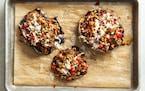 Portobello mushrooms make a fine stand-in for steak.  Mette Nielsen • Special to the Star Tribune