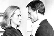 """Meryl Streep's character is suspected of murdering her lover in 1982's """"Still of the Night"""" (with Roy Scheider)."""