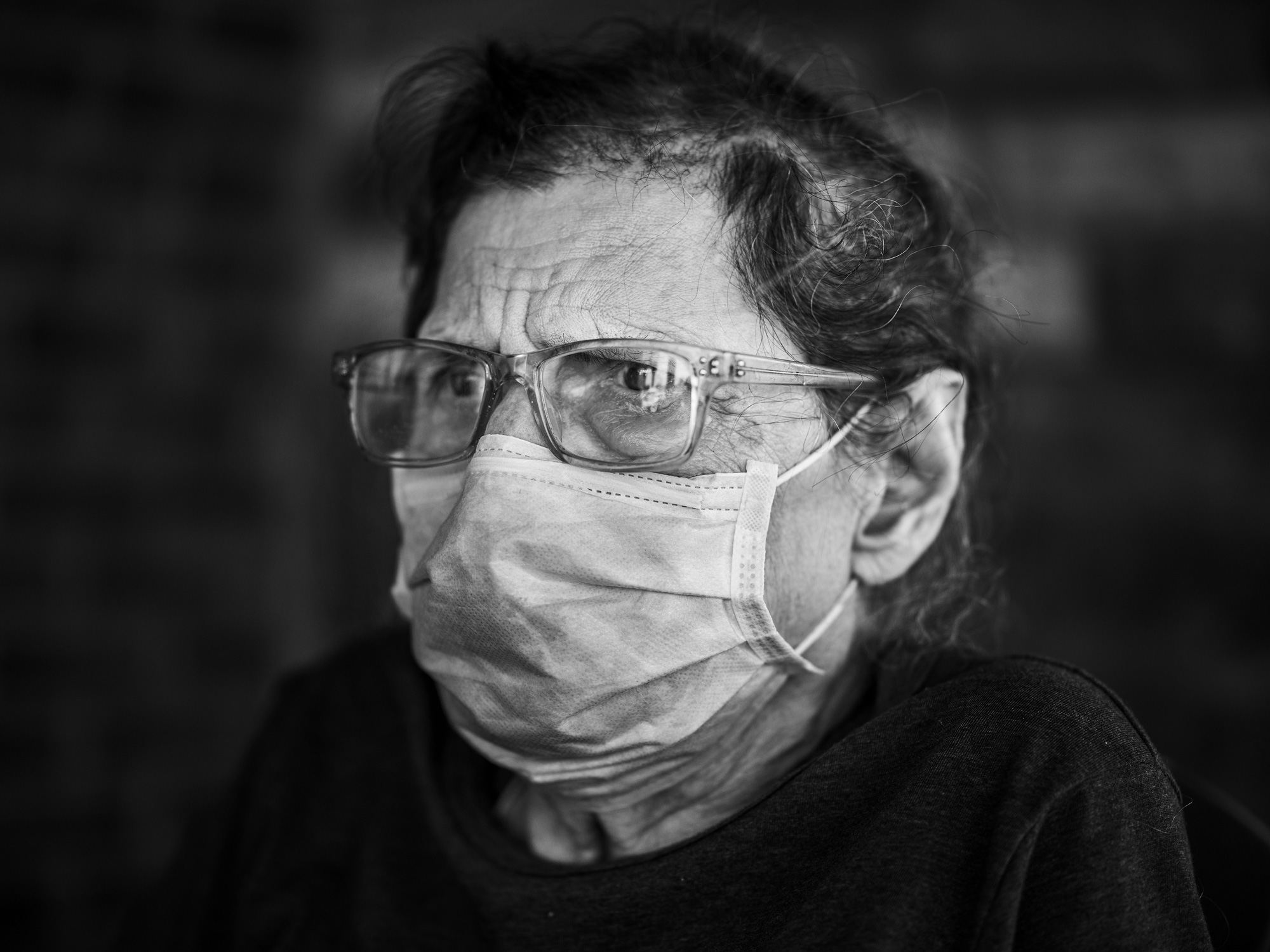 Former North Ridge patient Florence Van Mersbergen has nightmares of gasping for breath and crying out for help as people ignore her pleas.