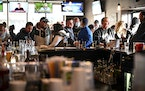 Alibi Drinkery in Lakeville for a time the governor's order in November to close bars and restaurant dining rooms to fight the latest wave of the co