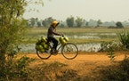 A small village in Cambodia.
