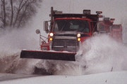 The Minnesota Department of Transportation is looking for names for eight of its snowplows.