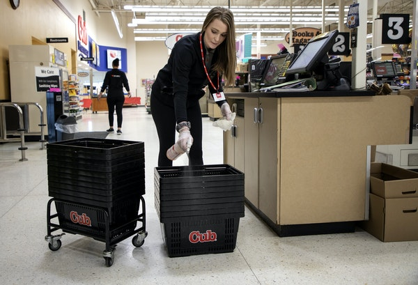The University of Minnesota is studying COVID-19 antibodies in grocery store workers to better understand how widespread infection is in the state. Da