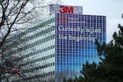 3M headquarters in Maplewood, Minnesota. (ANTHONY SOUFFLE/Minneapolis Star Tribune/TNS) ORG XMIT: 3316836W