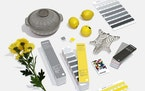 provided Pantone's Colors of the Year for 2021, Ultimate Gray and Illuminating