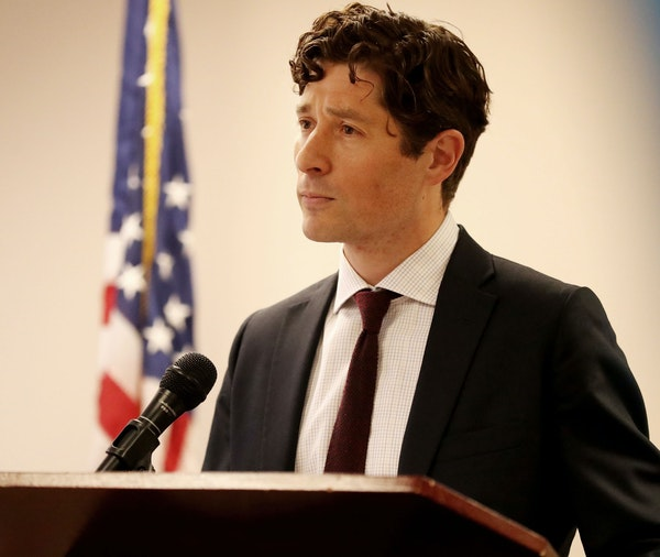 Minneapolis Mayor Jacob Frey.