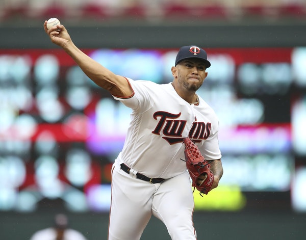 Fernando Romero during a game at Target Field on Sept. 22, 2019.