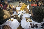 After 15 years Minnesota took back the Paul Bunyan Axe after they defeated Wisconsin 37-15 at Camp Randall Stadium in 2018.
